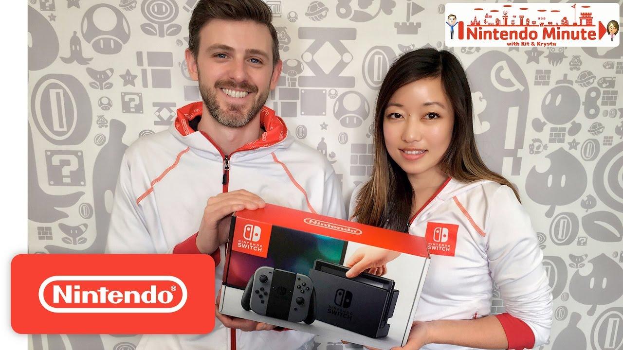 Premiers unboxing de la Nintendo Switch