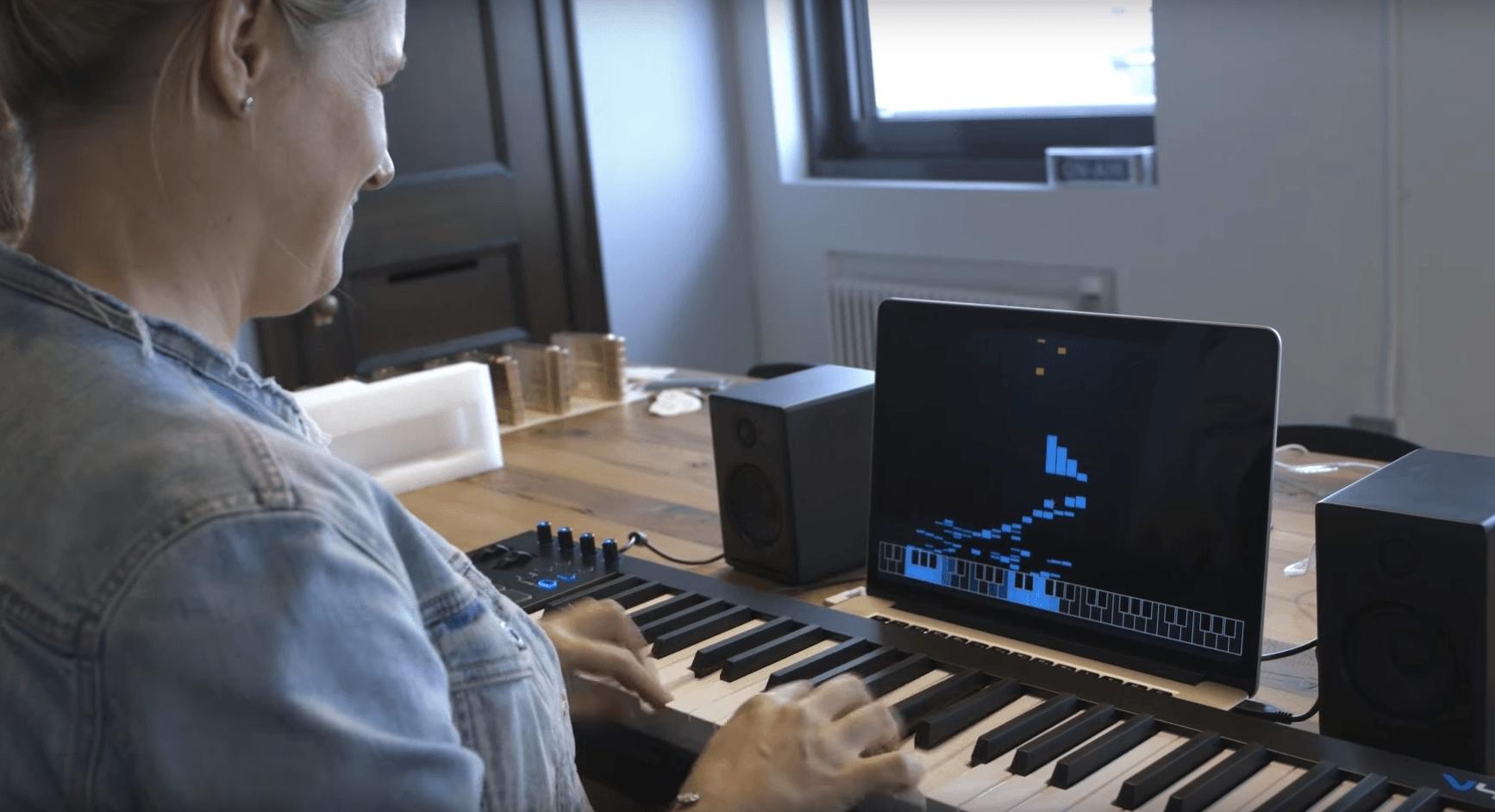 Jouez au piano avec AI Duet, l'intelligence artificielle de Google