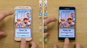 Speedtest : le Samsung Galaxy A5 2017 surpasse-t-il le modèle de 2016 ?