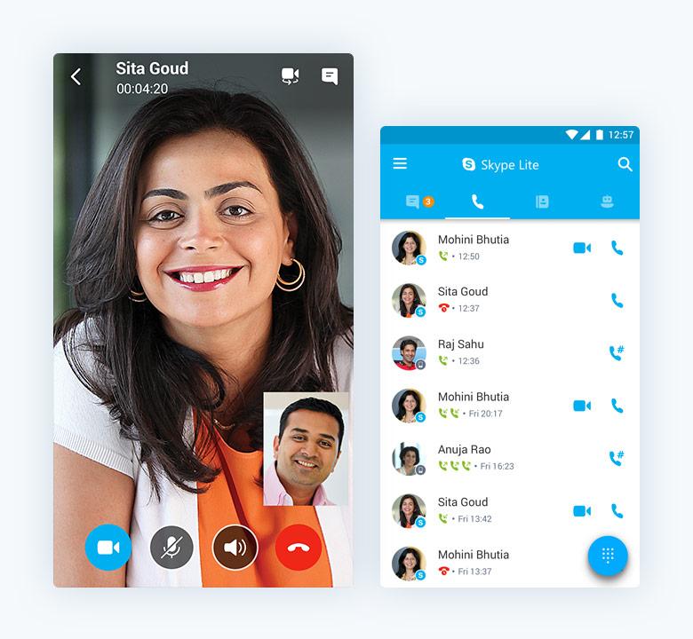 Skype Lite : Microsoft lance une application Android allégée