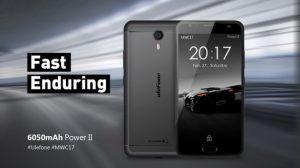 Ulefone Power 2 : 6 050 mAh dans un smartphone, qui dit mieux ?
