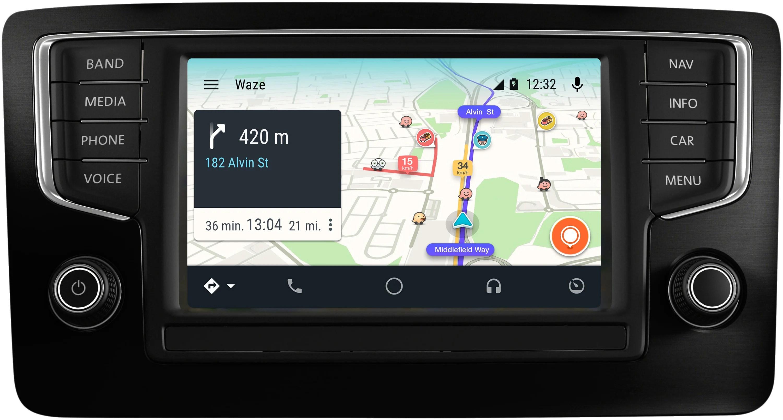 Waze enfin disponible sur Android Auto