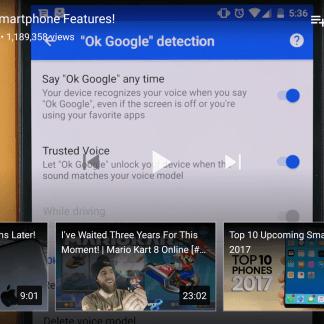 YouTube suggère maintenant des vidéos pendant la lecture
