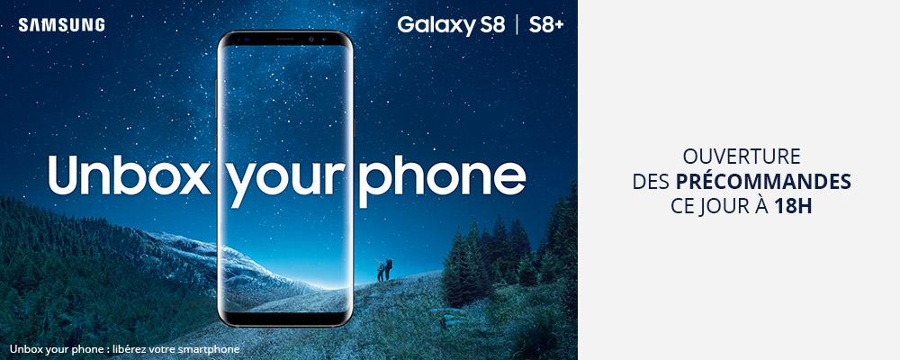 Samsung Galaxy S8 : date de sortie, précommandes et fiche technique dévoilées par Boulanger