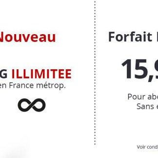 Free Mobile lance le premier forfait 4G illimitée pour les abonnés Freebox, 100 Go pour les autres