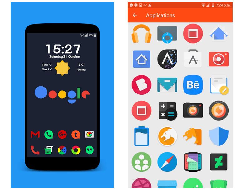 Voici 4 packs d'icônes Android gratuits temporairement