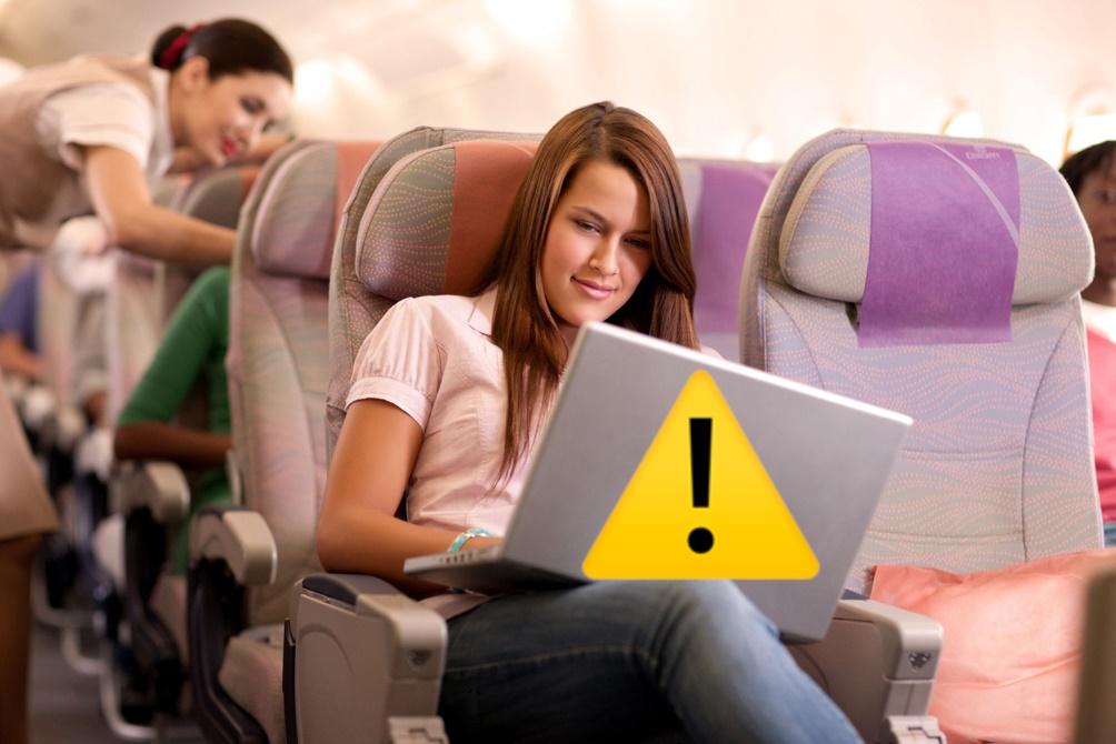 Les Etats-Unis vont interdire les appareils plus gros qu'un smartphone en cabine dans les vols depuis 13 pays