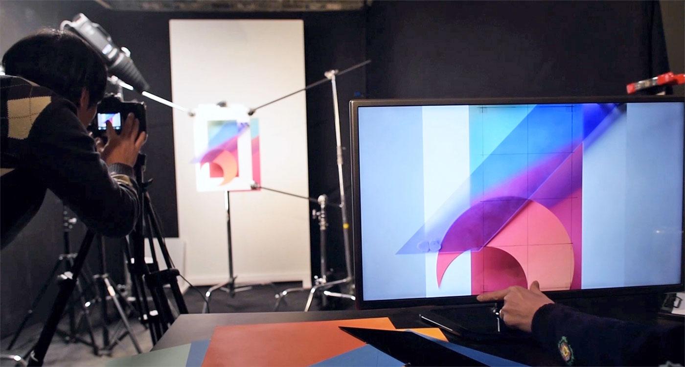 Le fond d'écran du LG G6 est une œuvre d'art