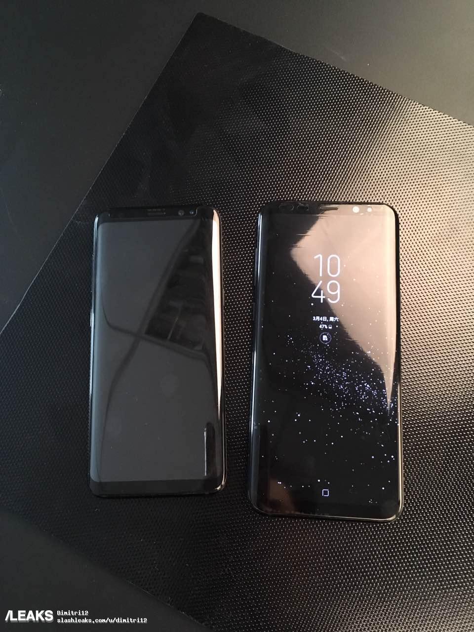 Samsung Galaxy S8 : un écran «3D Touch» comme l'iPhone pour remplacer le bouton physique ?