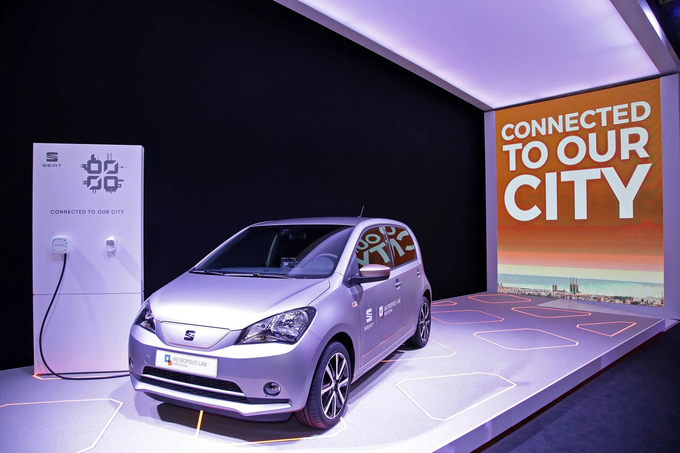 Seat connecte ses voitures à la ville de Barcelone – MWC 2017