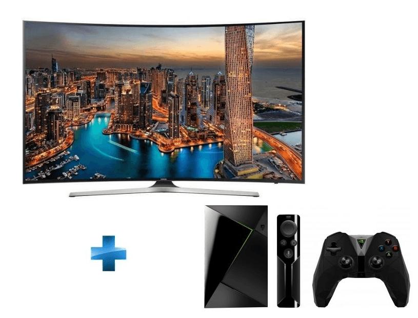 🔥 Bon plan : TV Samsung 4K HDR incurvée 55 pouces + Nvidia Shield TV à 899 euros au lieu de 1229 euros