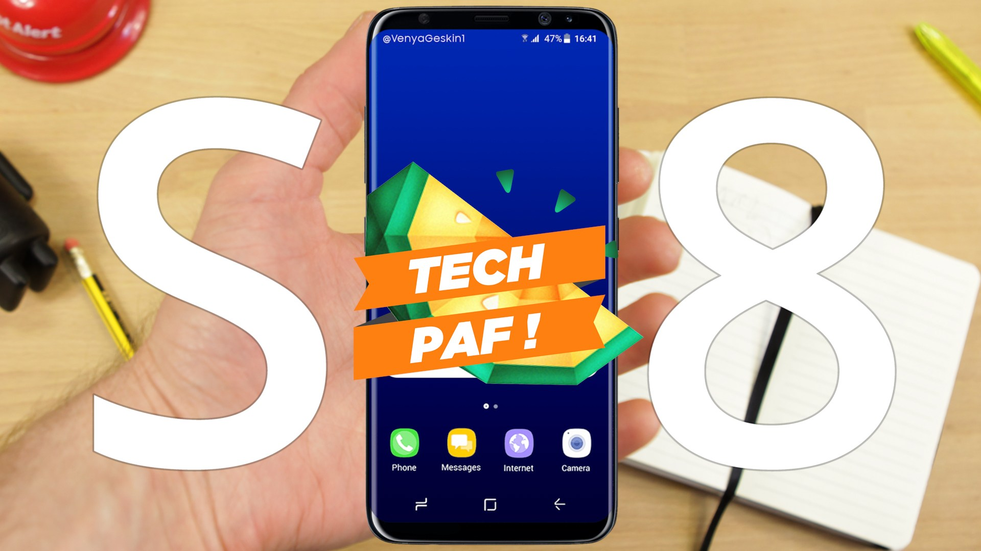 Suivez l'annonce du Samsung Galaxy S8 en live avec nous – Tech'PAF