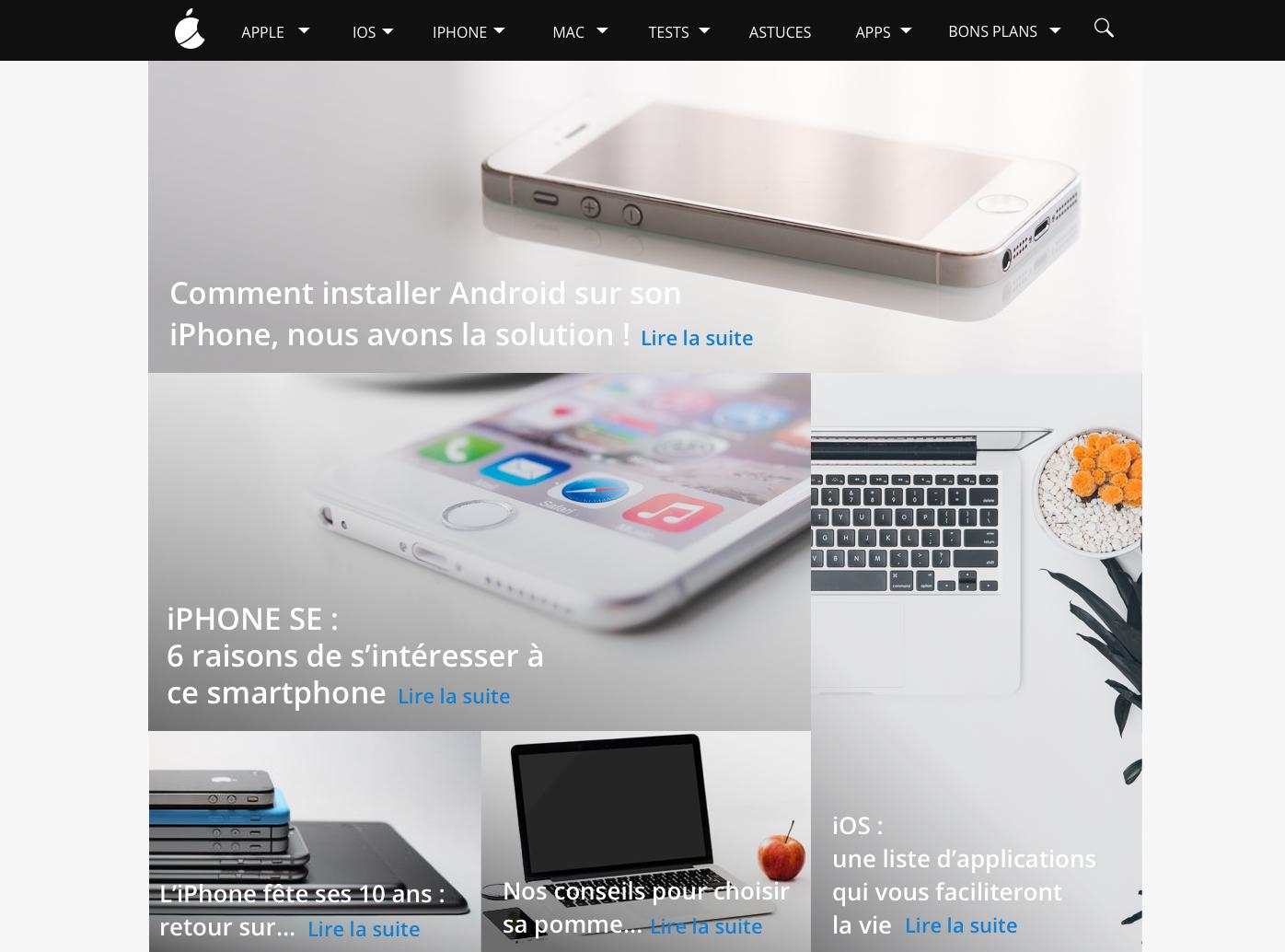 Humanoid lance FrApple, le nouveau site pour suivre toute l'actualité d'Apple !