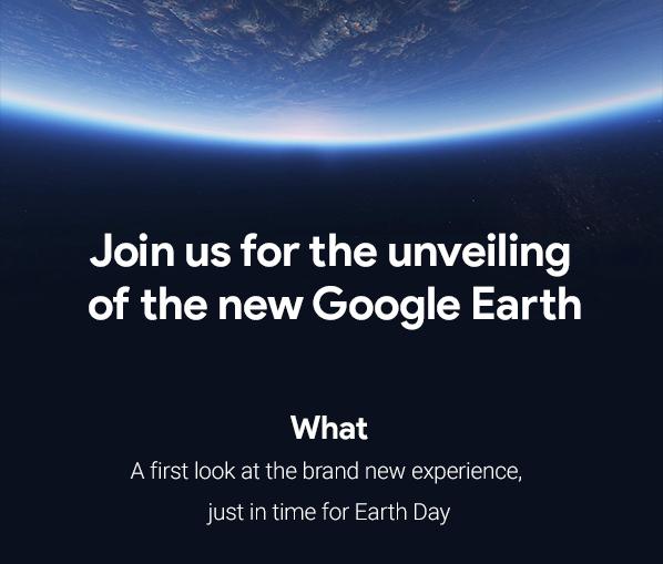 Vous vous souvenez de Google Earth ? Une refonte arrive !