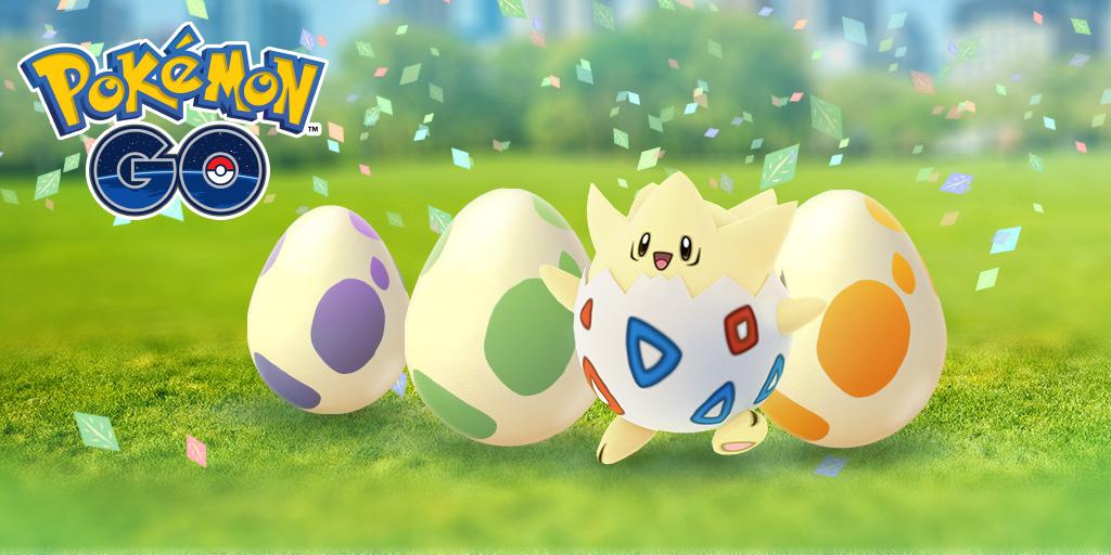 Pokémon Go : plein de bonus pour Pâques