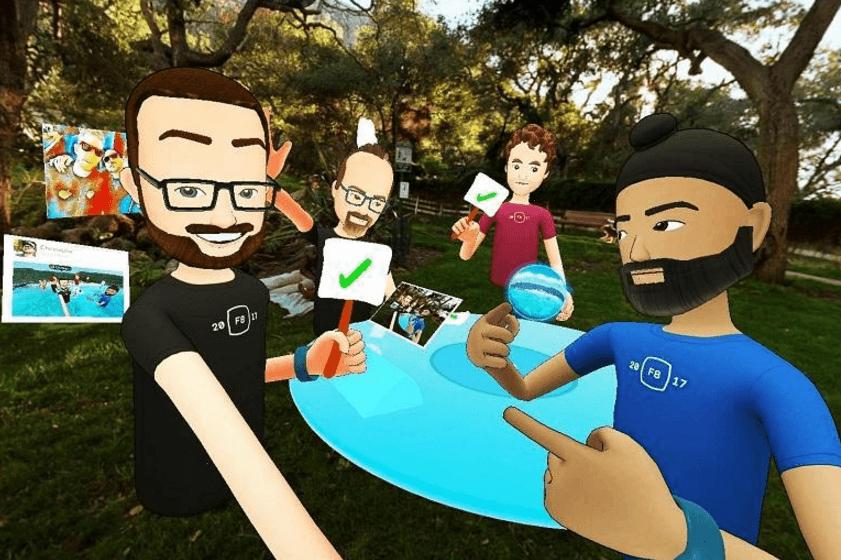Spaces, découvrez la première application de réalité virtuelle de Facebook