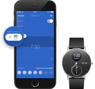 Smart Wake-Up : cette montre Withings vous réveille toujours du bon pied