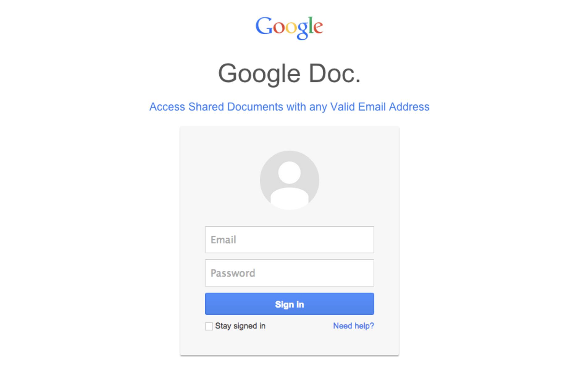 Google subit une attaque de phishing efficace, il est temps de se protéger