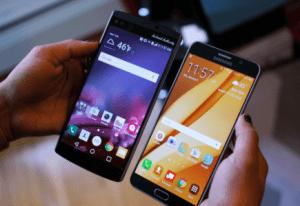 LG V30 : le Coréen adopterait (enfin) l'OLED