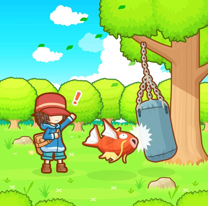Magicarpe Jump, le nouveau jeu Pokémon est disponible sur smartphone