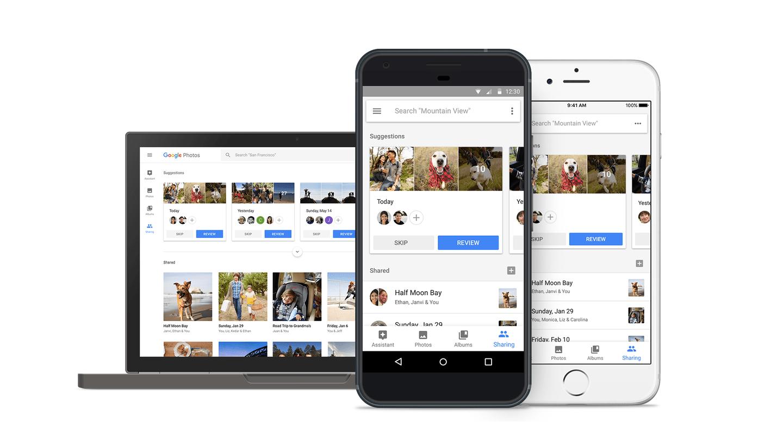Google Photos automatise le partage et les retouches