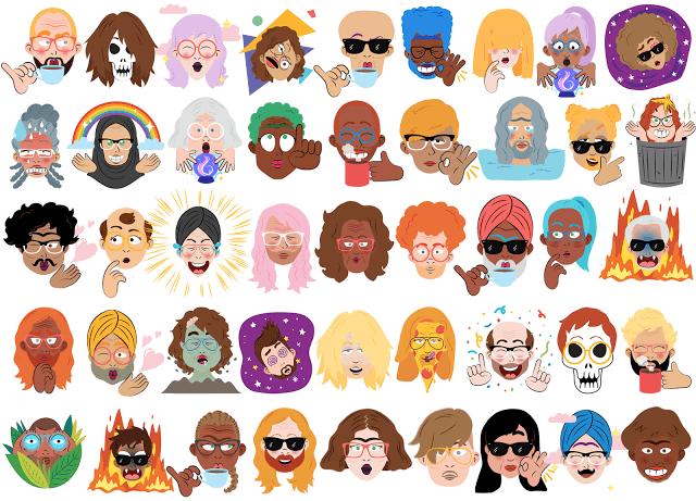 Google Allo transforme vos selfies en stickers rigolos