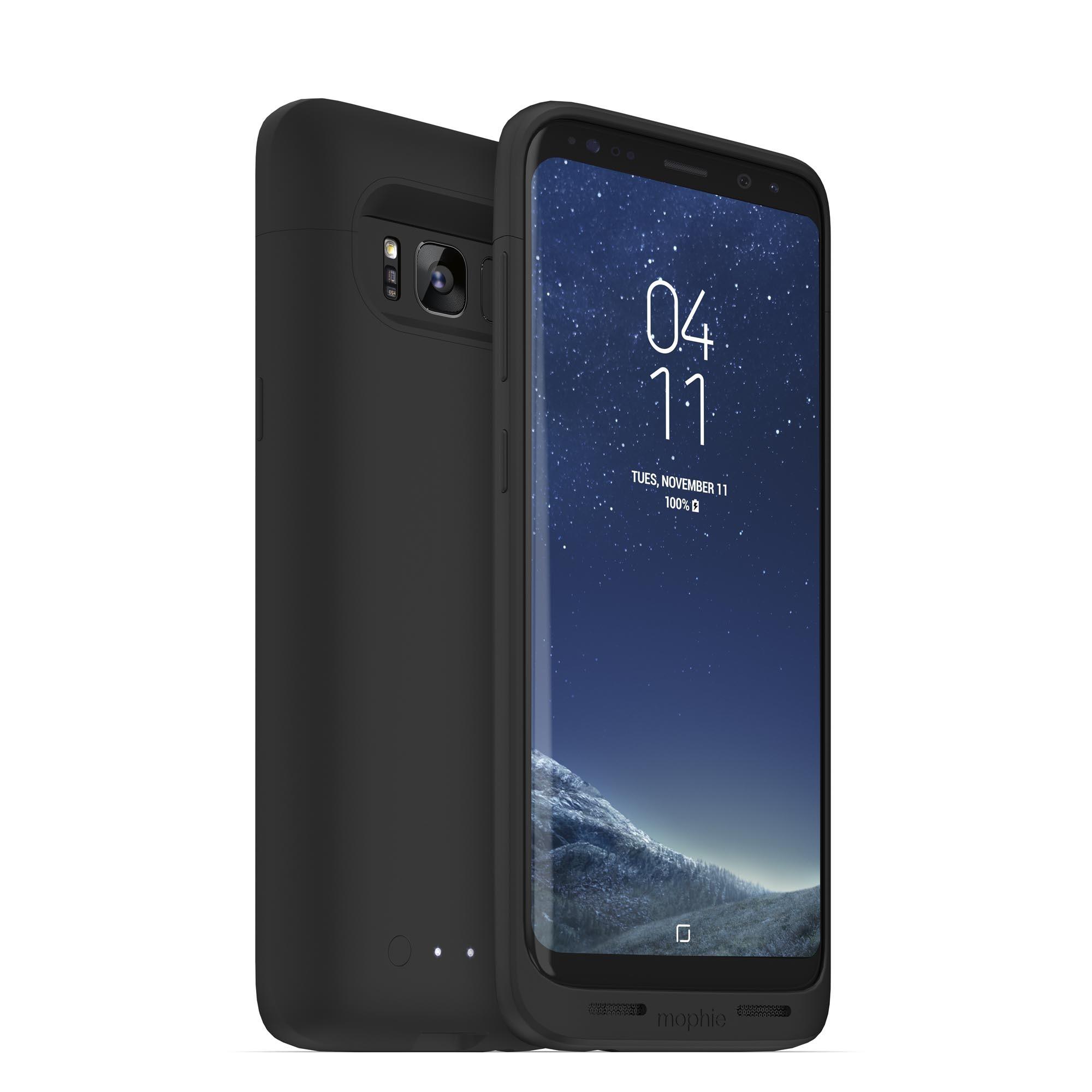 Prolongez l'autonomie des Galaxy S8 avec l'étui-batterie Mophie Juice Pack