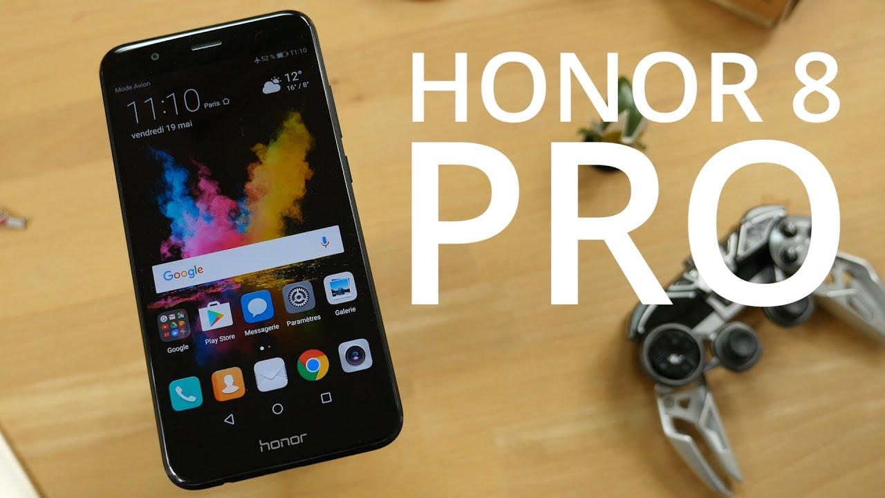 Test vidéo du Honor 8 Pro : un vrai coup de cœur