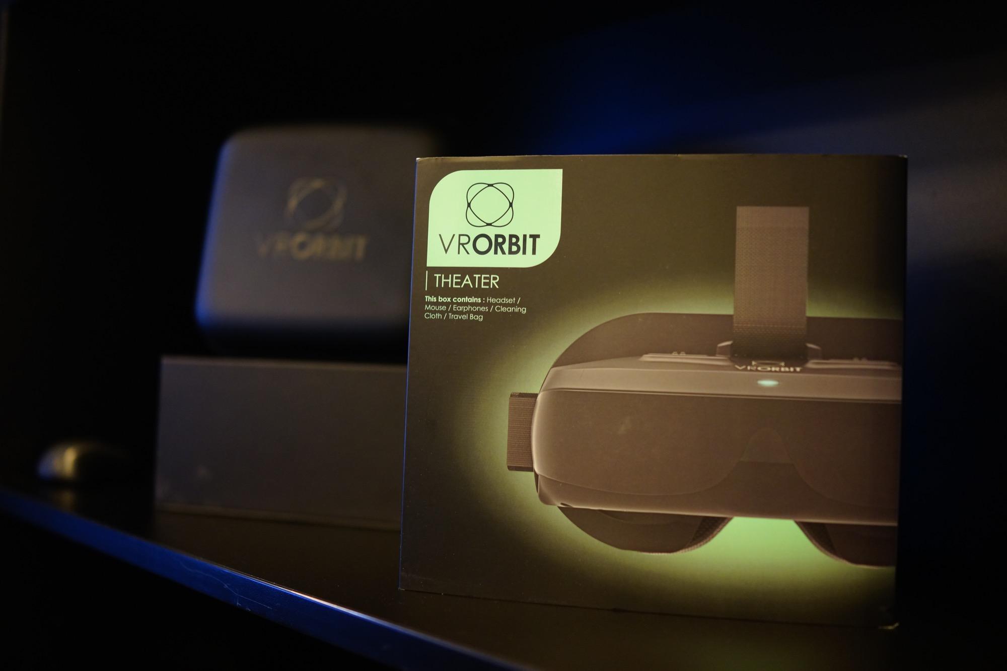 VRORBIT Theater, nous avons essayé ce casque VR autonome sous Android