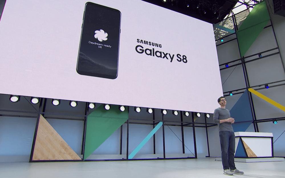 Samsung Galaxy S8 : le seul appareil compatible Google Daydream ET Gear VR