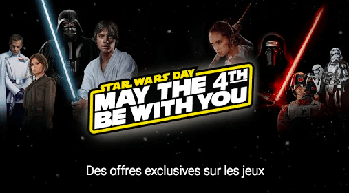 🔥 Bon plan : Google Play fête la May the 4th be with you