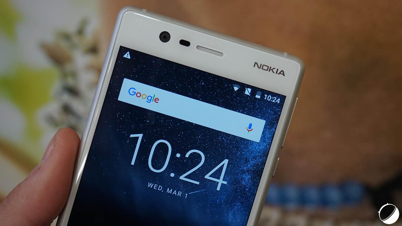 Le Nokia 3 va rattraper son retard logiciel sur les Nokia 5 et 6