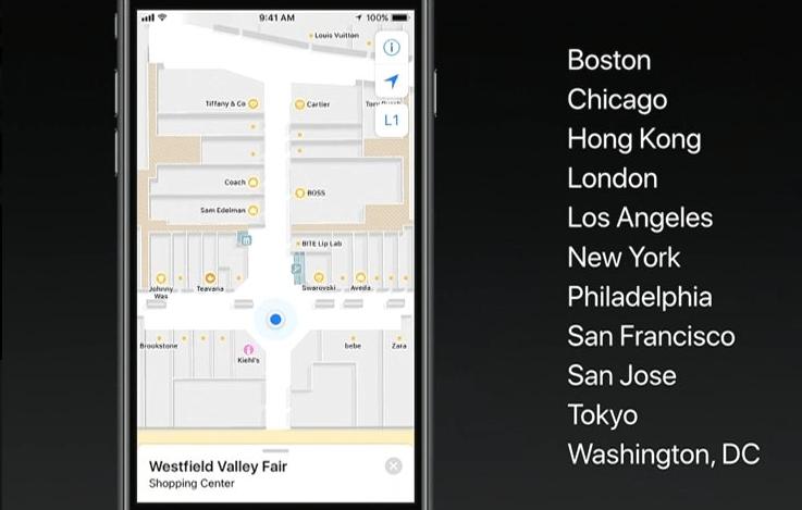 iOS 11 : pas de notification au volant et cartographie d'intérieur