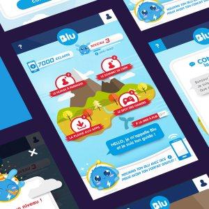 Blu : quand le forfait mobile gratuit s'inspire du free-to-play