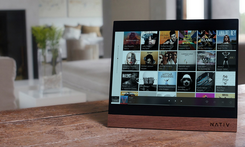 Nativ Vita : cette tablette Hi-Fi coûte 1600 à 3000 dollars