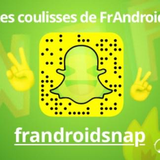 Suivez les coulisses de FrAndroid grâce à Snapchat !