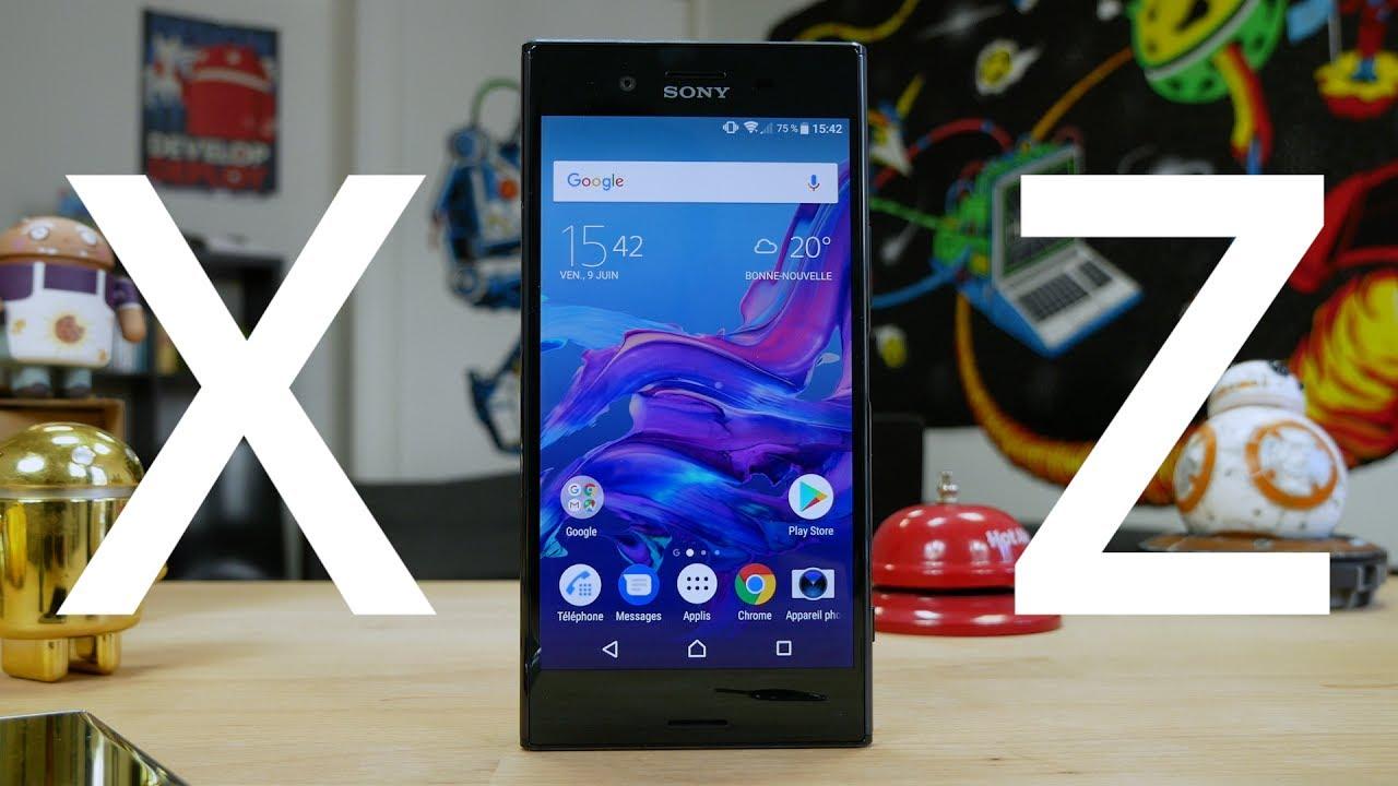 Test vidéo du Sony Xperia XZ Premium: le smartphone qui filme en slow motion