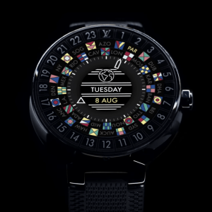 Louis Vuitton lance une montre Android Wear à 3 000 dollars
