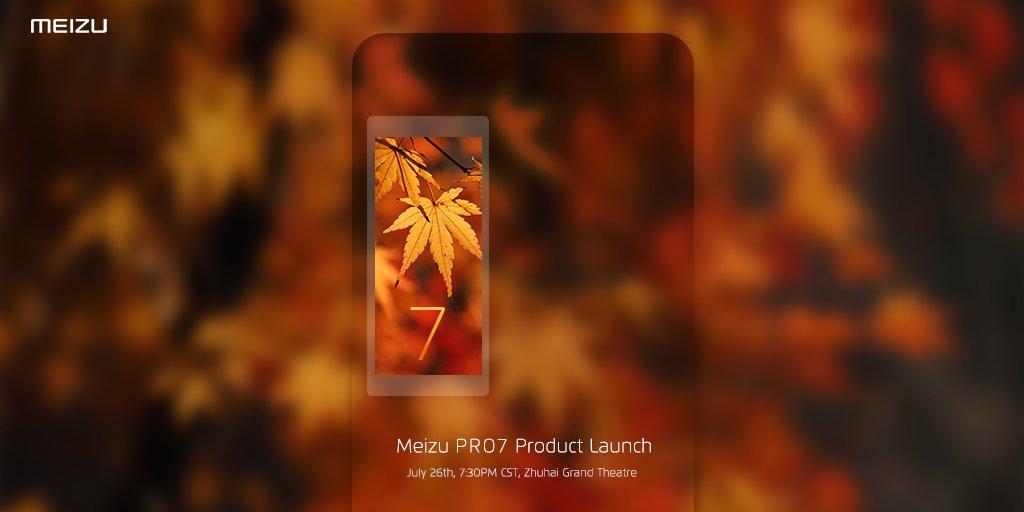 Meizu Pro 7 : le constructeur tease encore plus le second écran