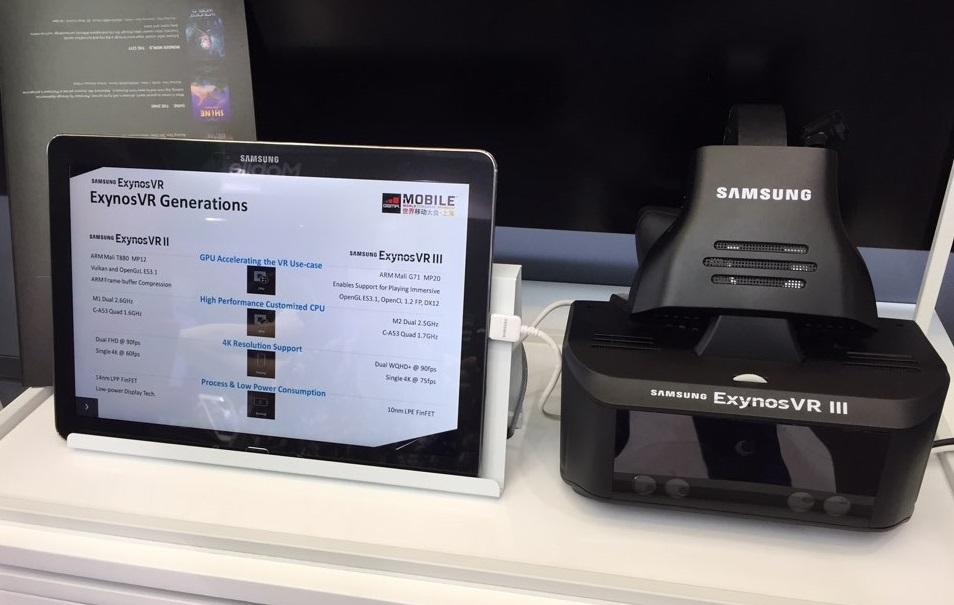 Exynos VR III : le casque VR «secret» de Samsung avec tracking du regard et définition 4K