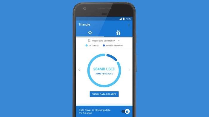 Google Triangle ou comment économiser ses données mobiles