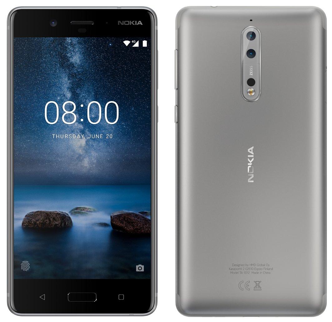 Après le bleu, le Nokia 8 se dévoile en gris