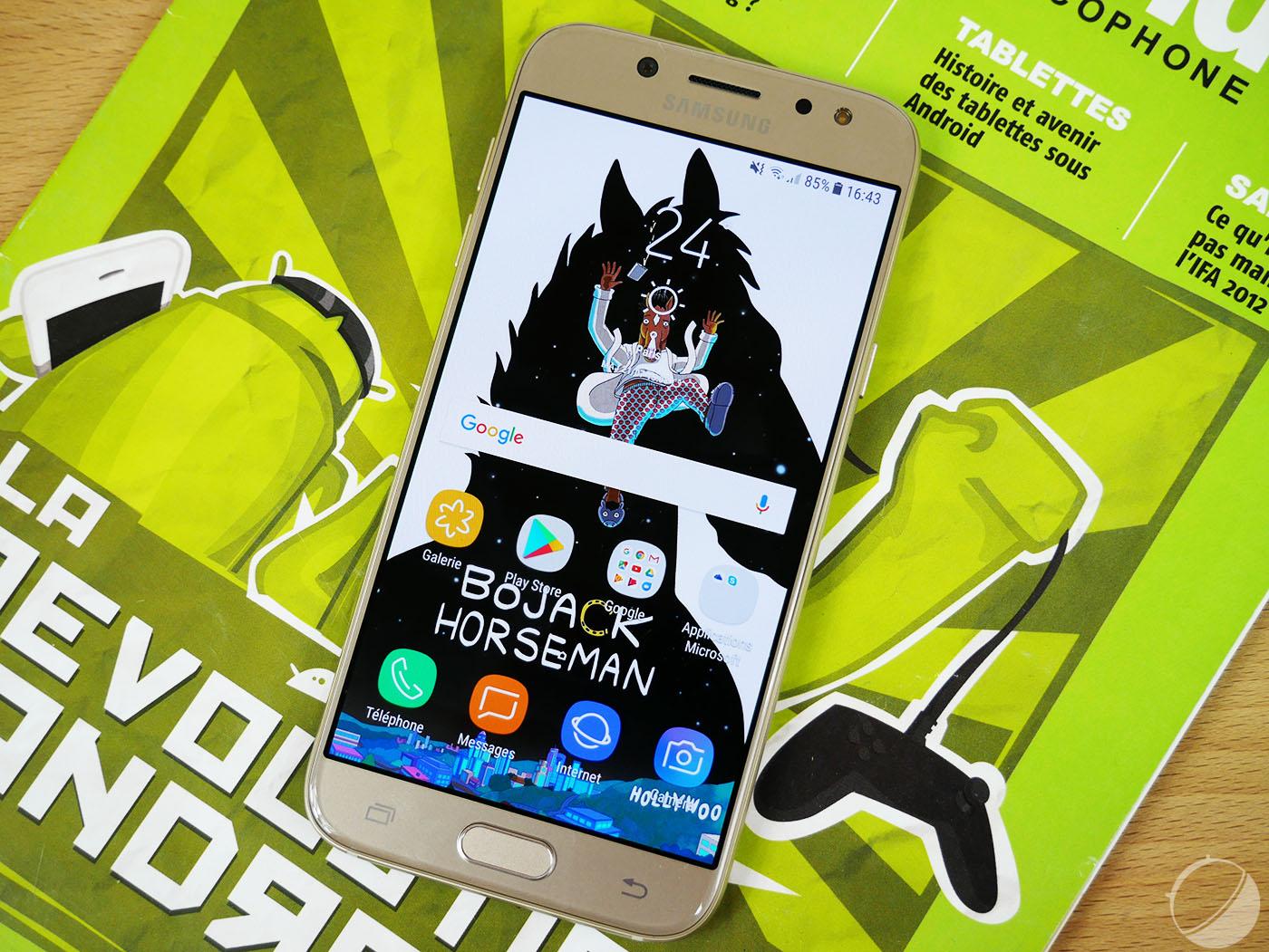 Test du Samsung Galaxy J5 (2017) : une version améliorée mais toujours coûteuse