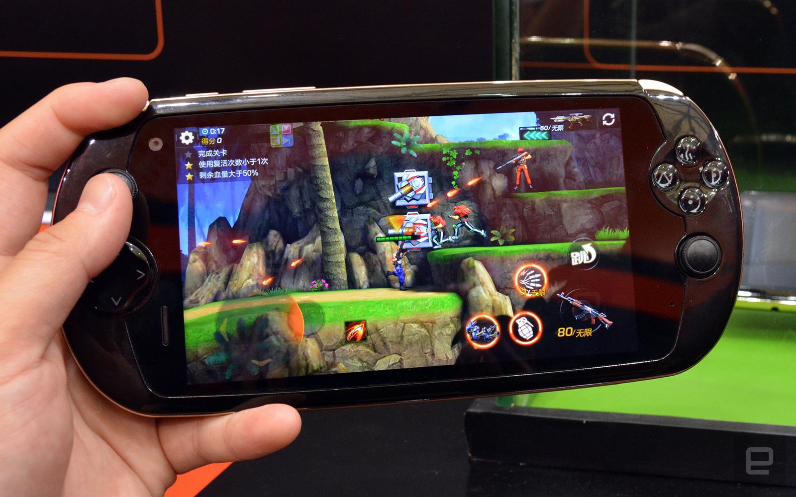 Snail Mobile i7 : un smartphone aux airs de PS Vita
