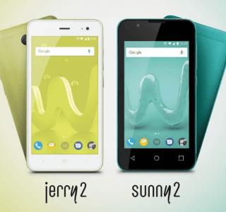 Wiko annonce les Jerry2 et Sunny2 : des petits prix peuvent cacher des concessions importantes