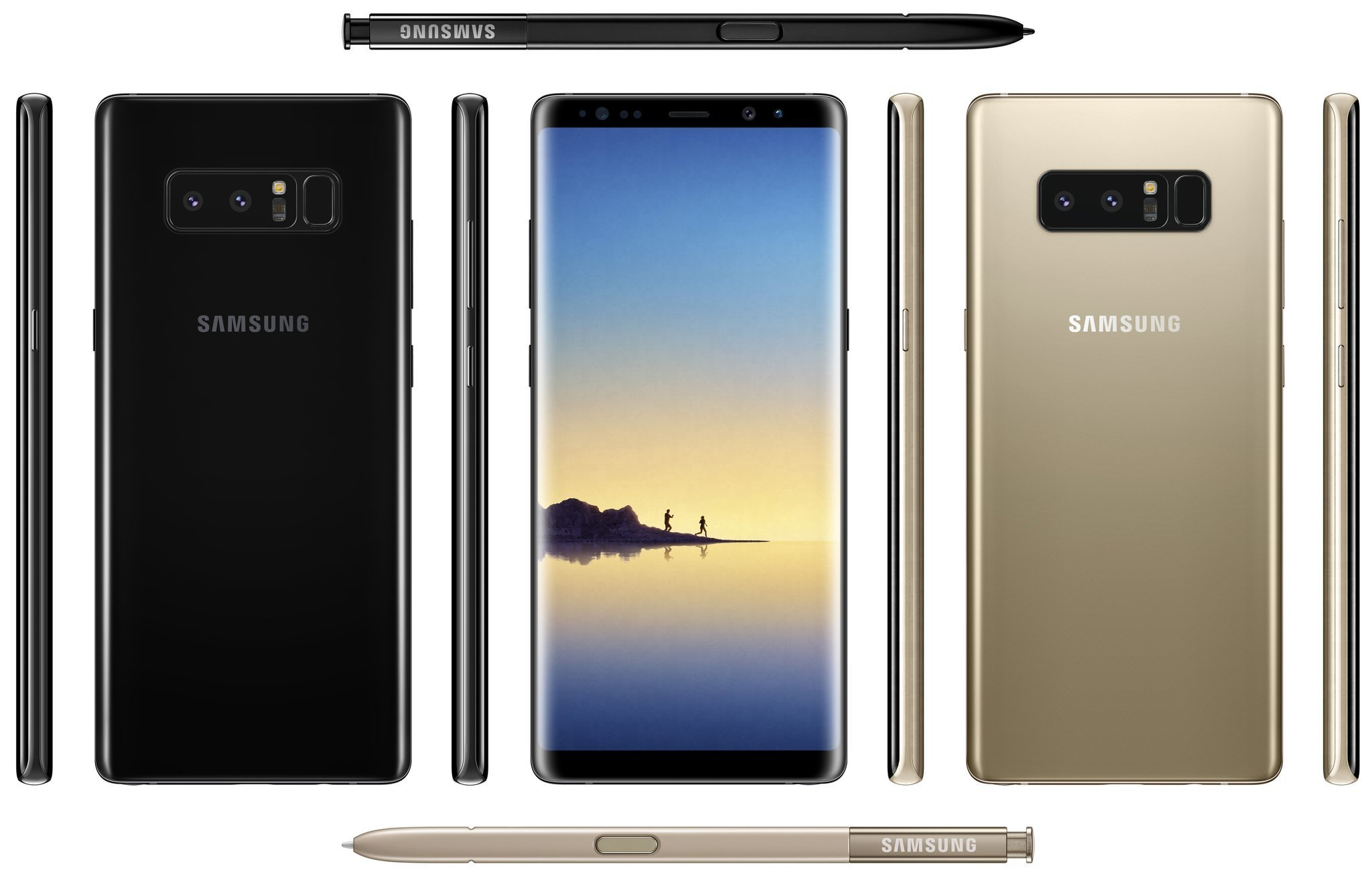 Voici l'image officielle du Samsung Galaxy Note 8