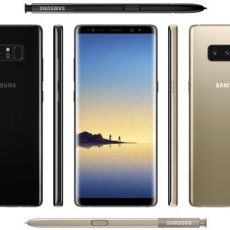 Voici l'image officielle du Samsung Galaxy Note8