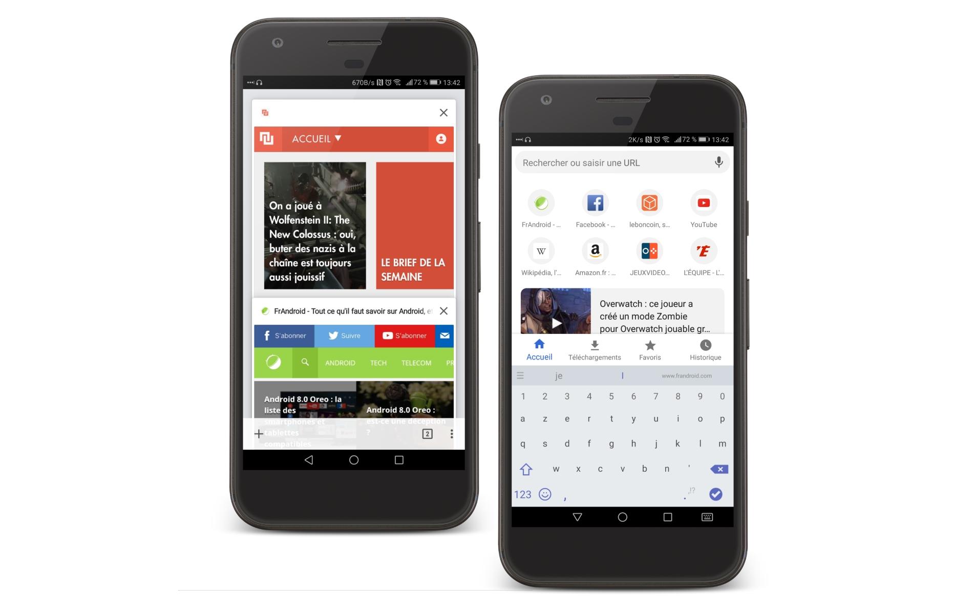 Google teste un nouveau design de Google Chrome sur Android