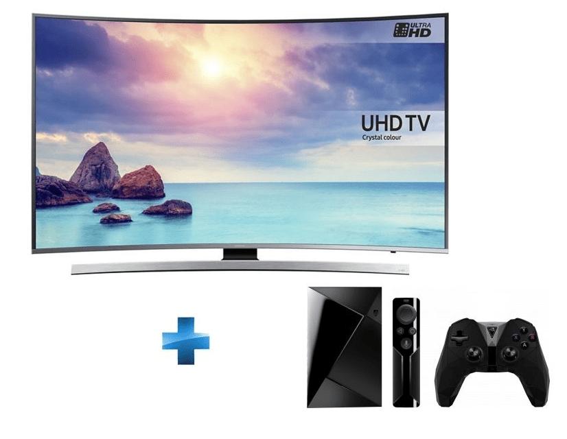 🔥 Bon plan : Une TV Samsung 55 pouces HDR 4k + la Nvidia Shield TV à 899 euros chez Rue du Commerce