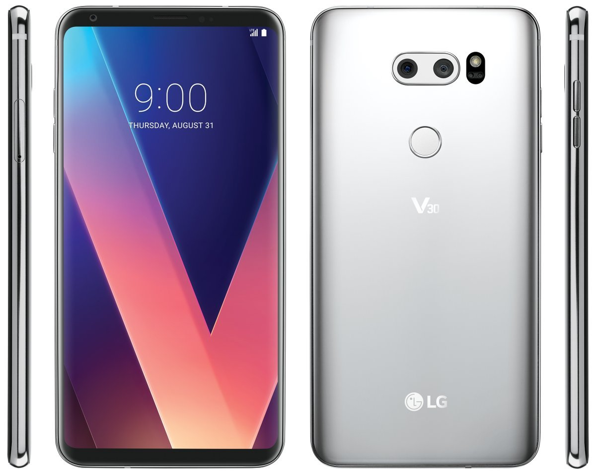 LG V30: voici le plus bel aperçu du téléphone